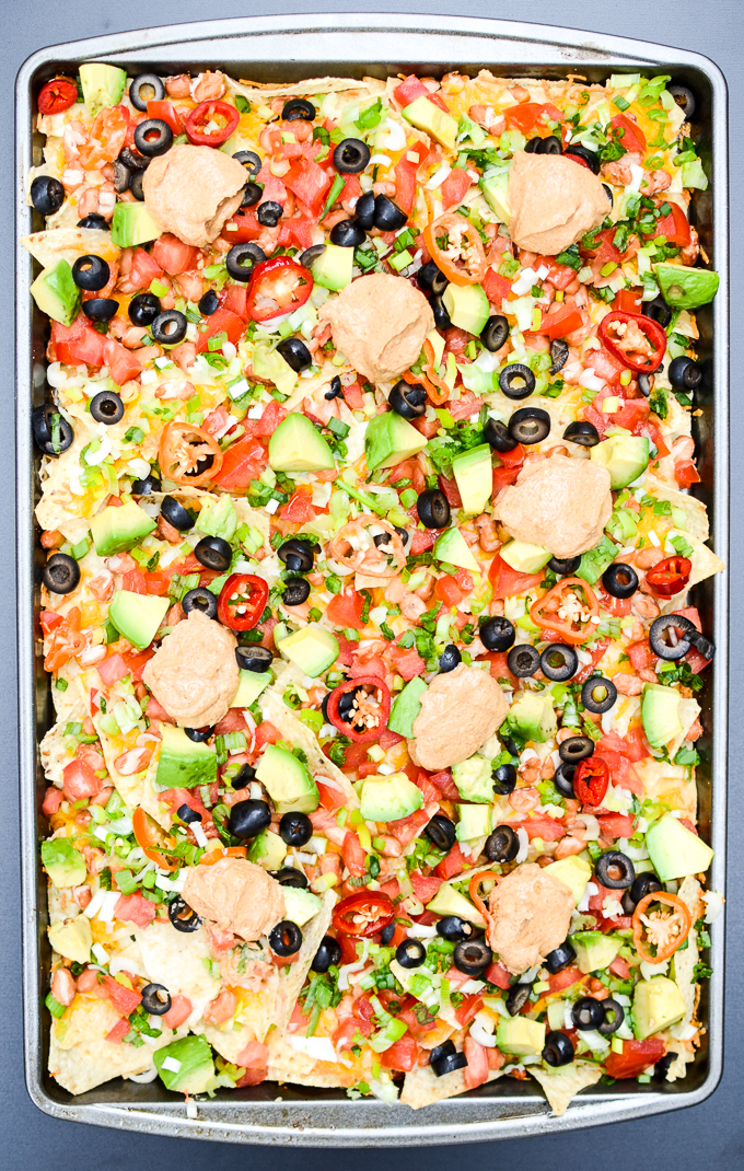 Layer Sheet Pan Nachos | The Every Kitchen
