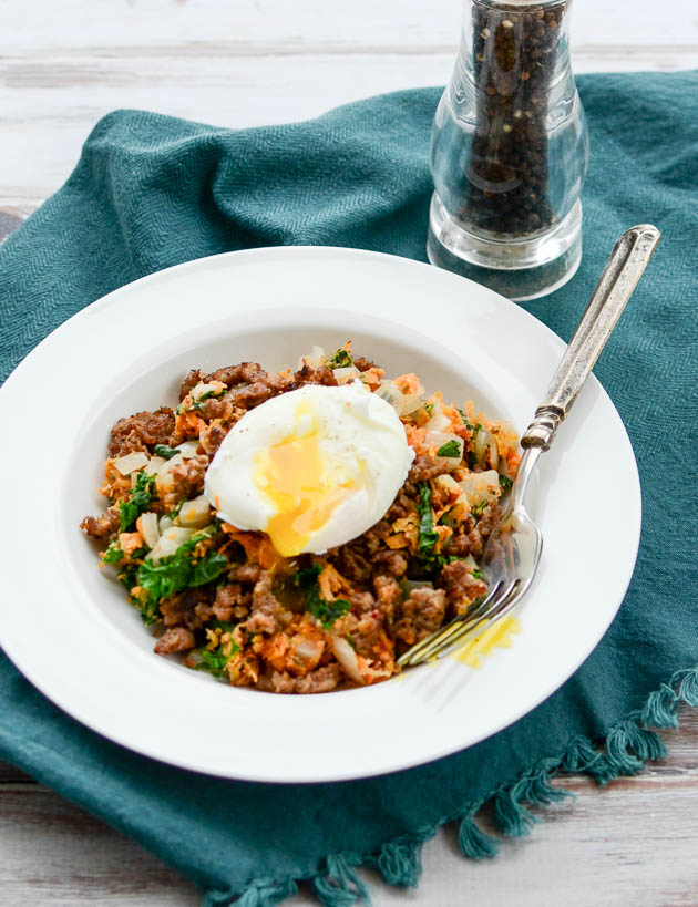 Sweet Potato and Kale Hash with Spicy Sausage | The Every ...