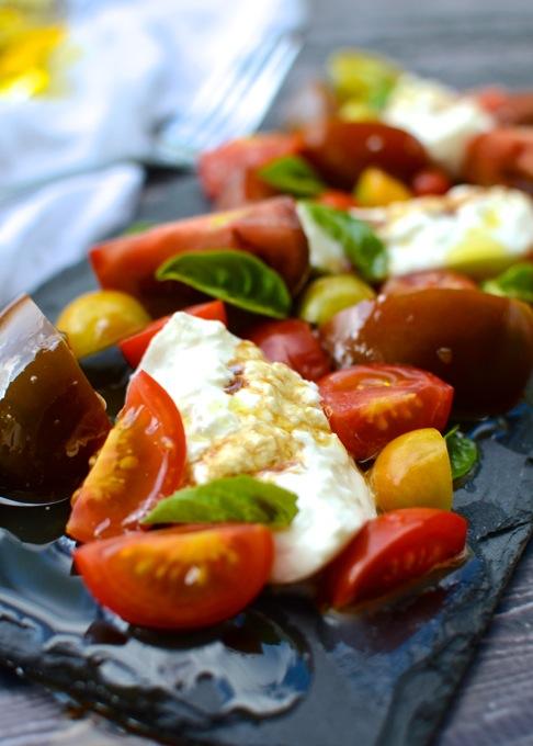 Simple Tomato & Burrata Salad | The Every Kitchen